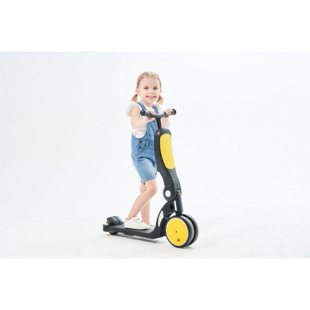 Chipolino All Ride 4 az 1-ben roller - Yellow 2020