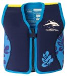 Konfidence Jacket úszómellény Navy Blue Palm 18-36hó