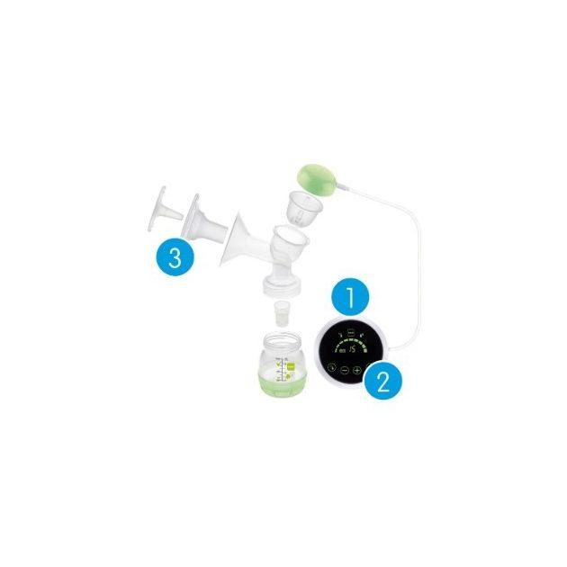 MAM 2in1 Elektromos és kézi mellszívó készülék