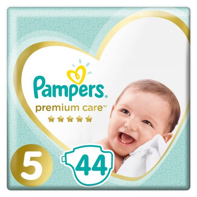 Pampers pelenka Prem ValuePack S5 44