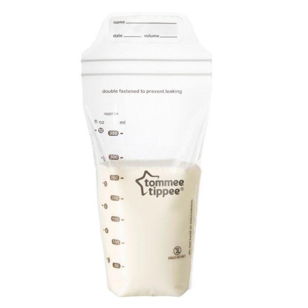 Tommee Tippee Made for Me szilikon mellszívó,anyatej tárolóval és sterilizáló zacskóval