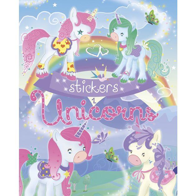Napraforgó Unicorns Stickers