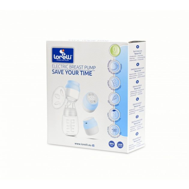 Lorelli Save your time elektromos mellszívó - blue