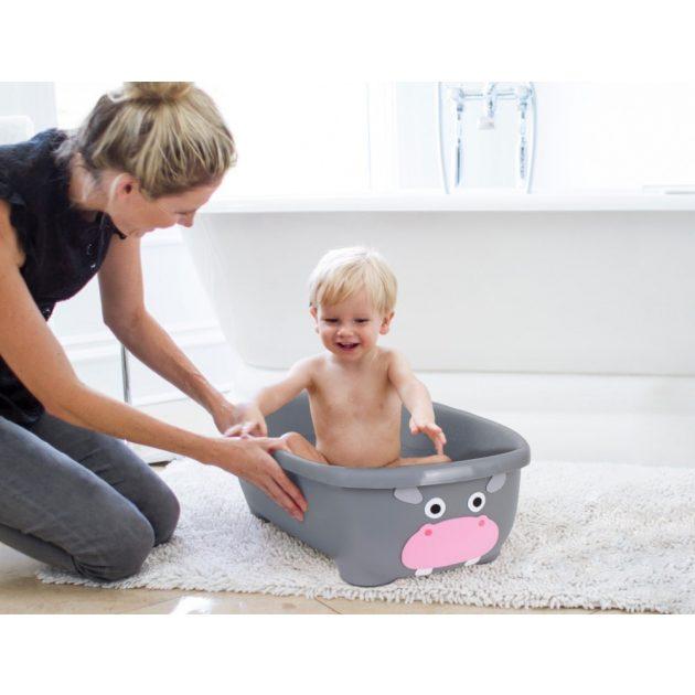 Prince Lionheart Tubimal állatos fürdőkád fürdetéskönnyítő hálóval - bézs kutyus