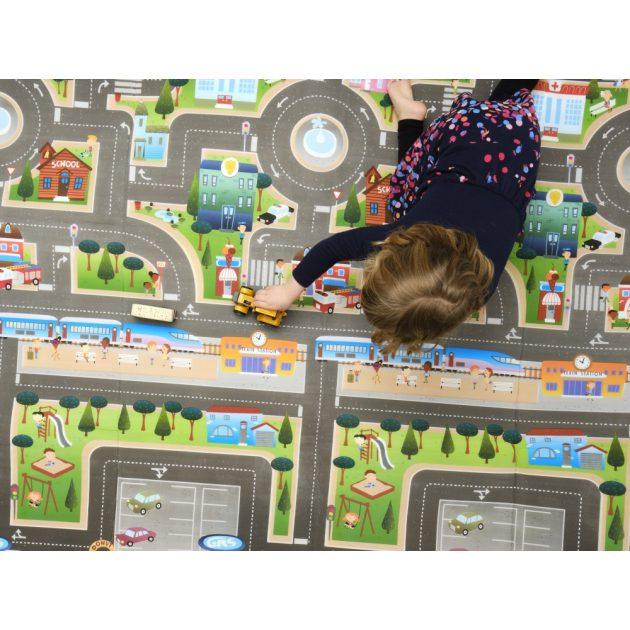 Prince Lionheart playMAT játszószőnyeg - City/ABC