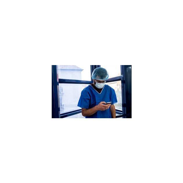 Apás szülészeti szett kék - XL