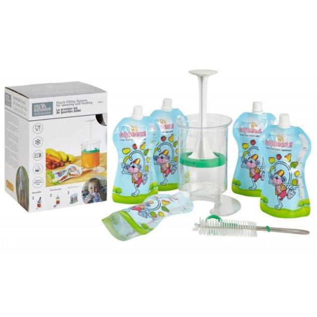 Fill Squezee otthoni babaétel készítő 5 db steril zacskóval