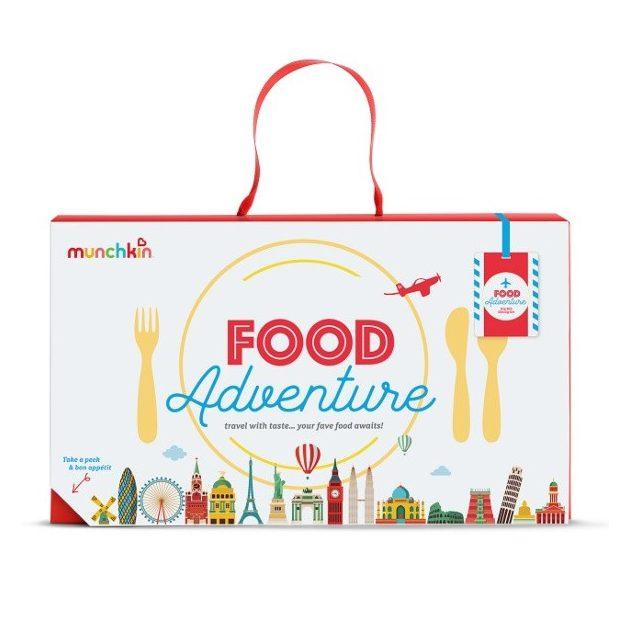 Munchkin Food Adventure étkészlet - kék