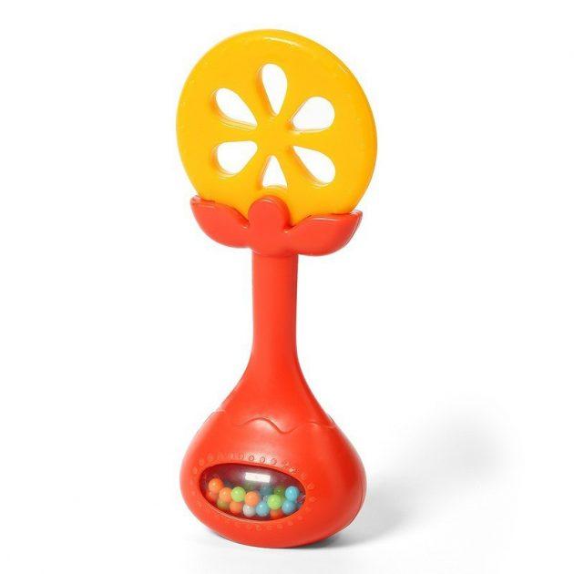 BabyOno csörgő rágóka - narancs 499/01