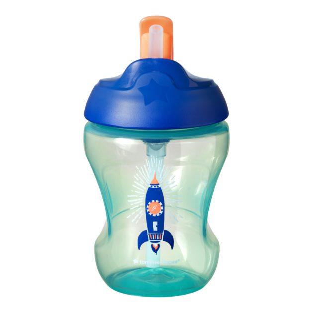 Tommee Tippee Straw Cup szívószálas itatópohár fiú 230ml