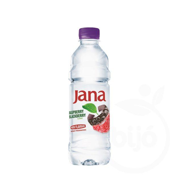 Jana málna-szeder ízesített ásványvíz 0,5L