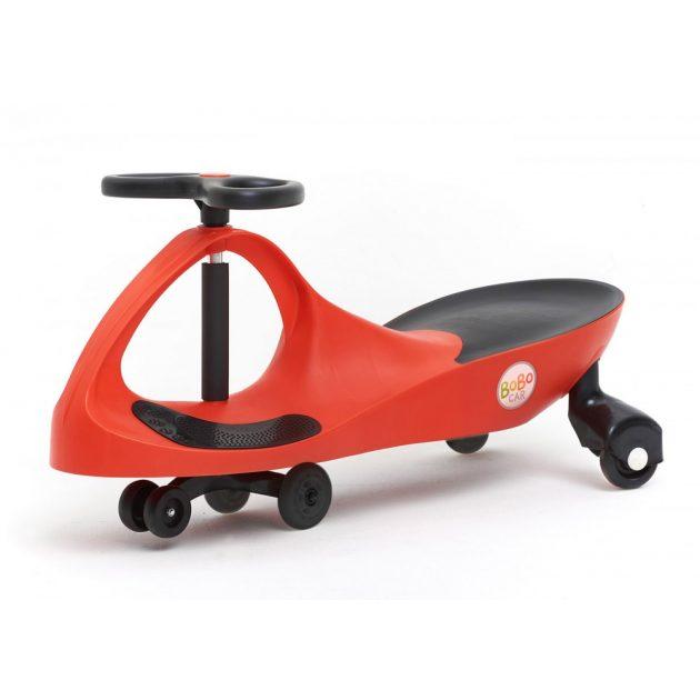 Bobocar - piros műanyag kerékkel