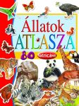 Napraforgó Állatok atlasza 80 matricával