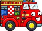 Napraforgó Berregő járművek - Tűzoltóautó