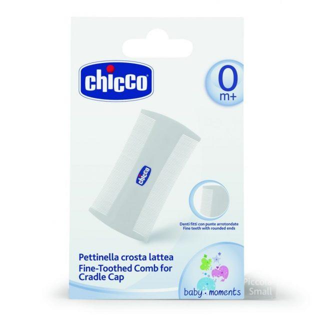 Chicco koszmó fésű újszülöttek számára
