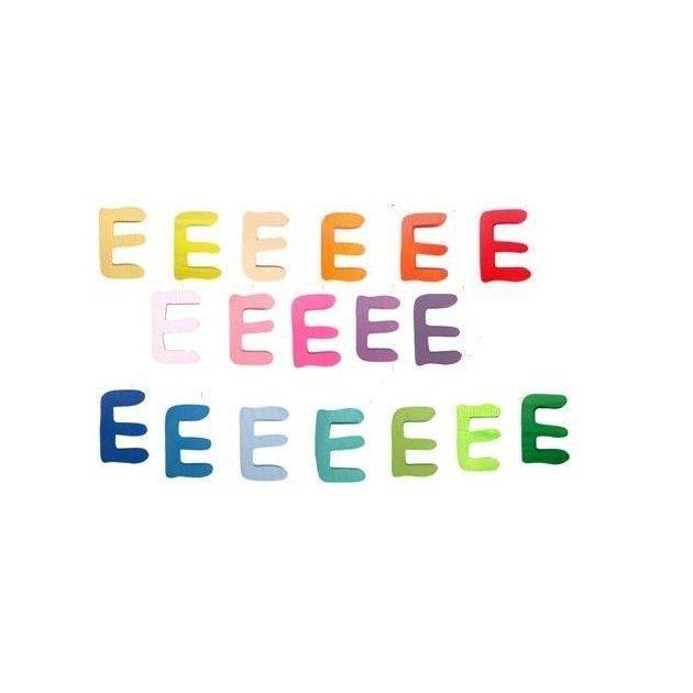 Gabeliz színes betű