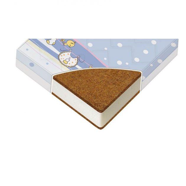 Lorelli Holiday kókusz/hab matrac 70x140x10 cm - vegyes színekben