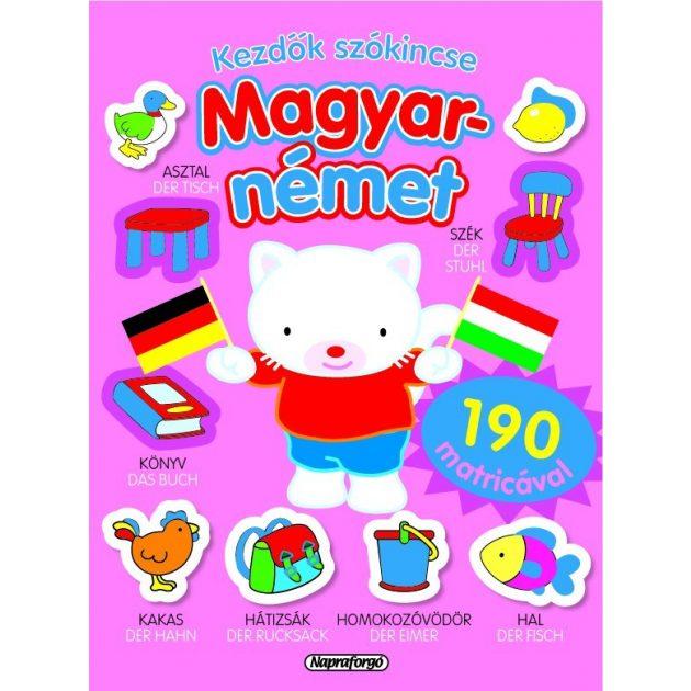 Napraforgó Kezdők szókincse - Magyar-német