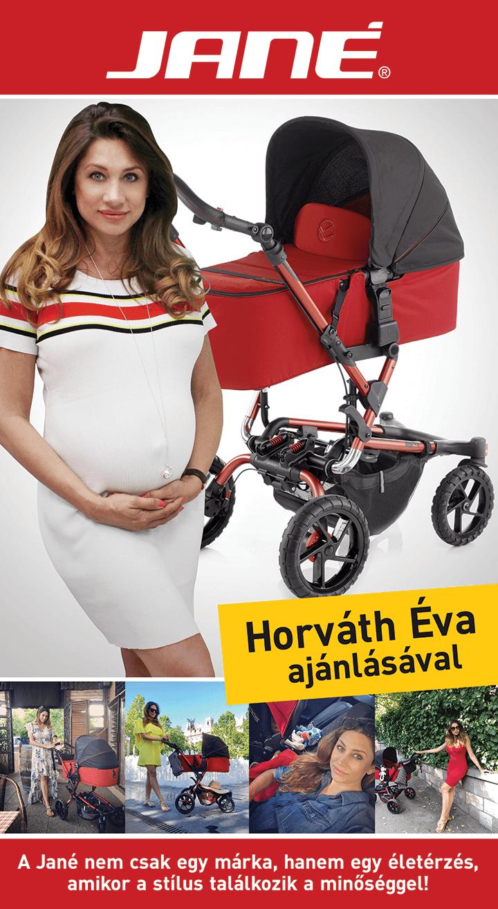 Horváth Éva a Jané márkát választotta!
