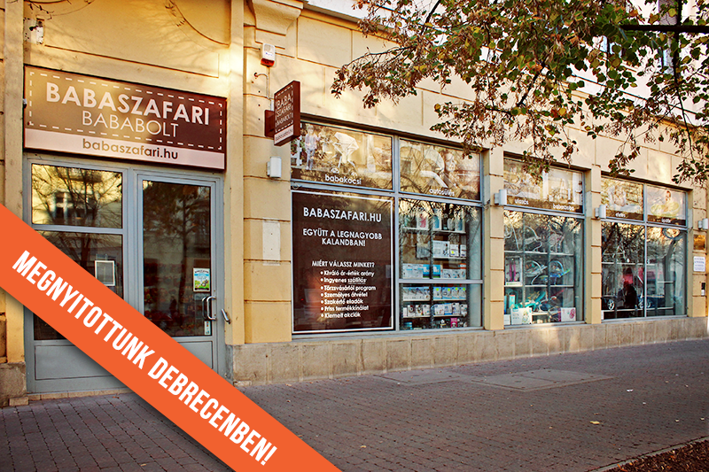 Debrecenben is Babaszafari