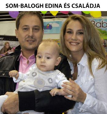 Som-Balogh Edina és családja
