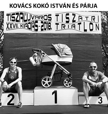 Kovács Kokó István és párja