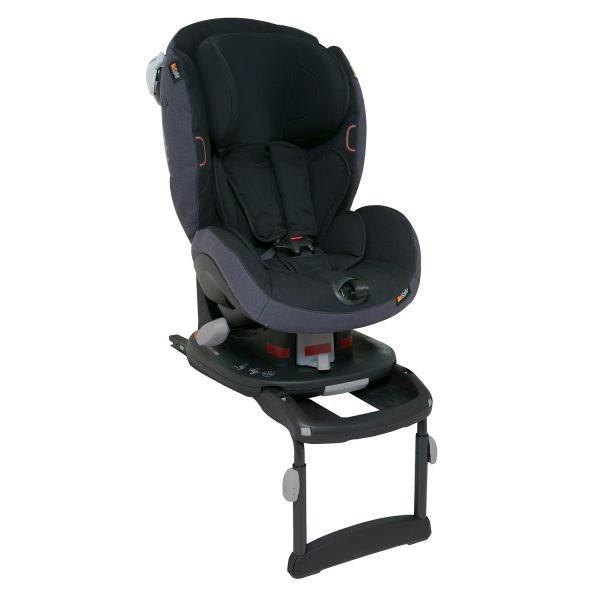 BeSafe iZi Comfort X3 ISOFIX autós gyerekülés 9-18 kg - 01 Midnight Black